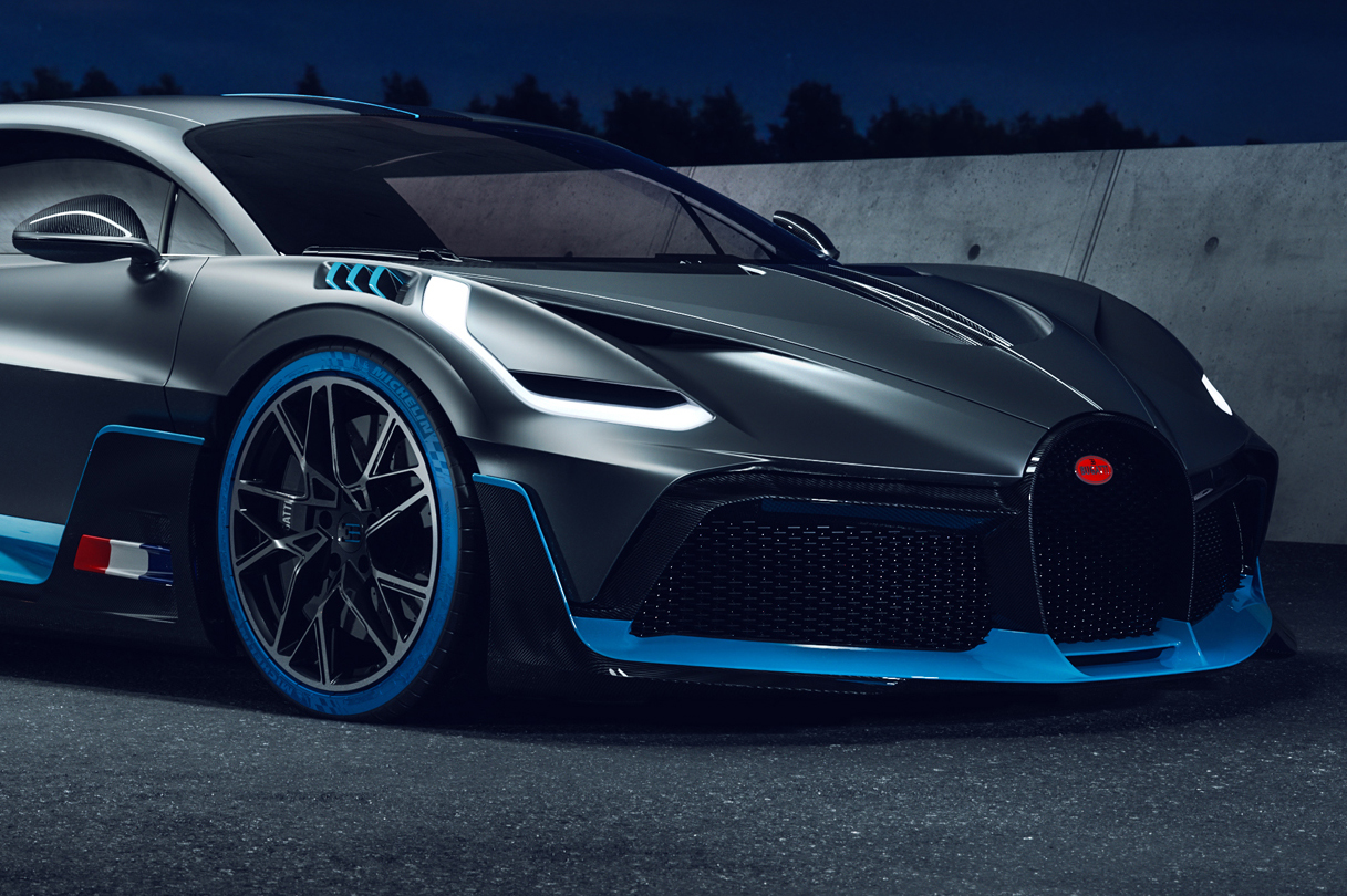 Bugatti Divo – Digital Project