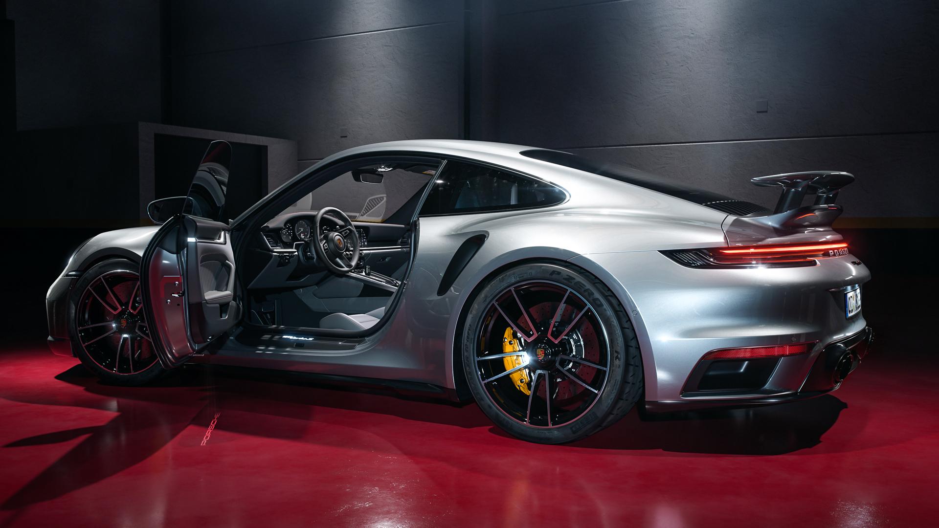 Porsche 911 Turbo S Full CGI