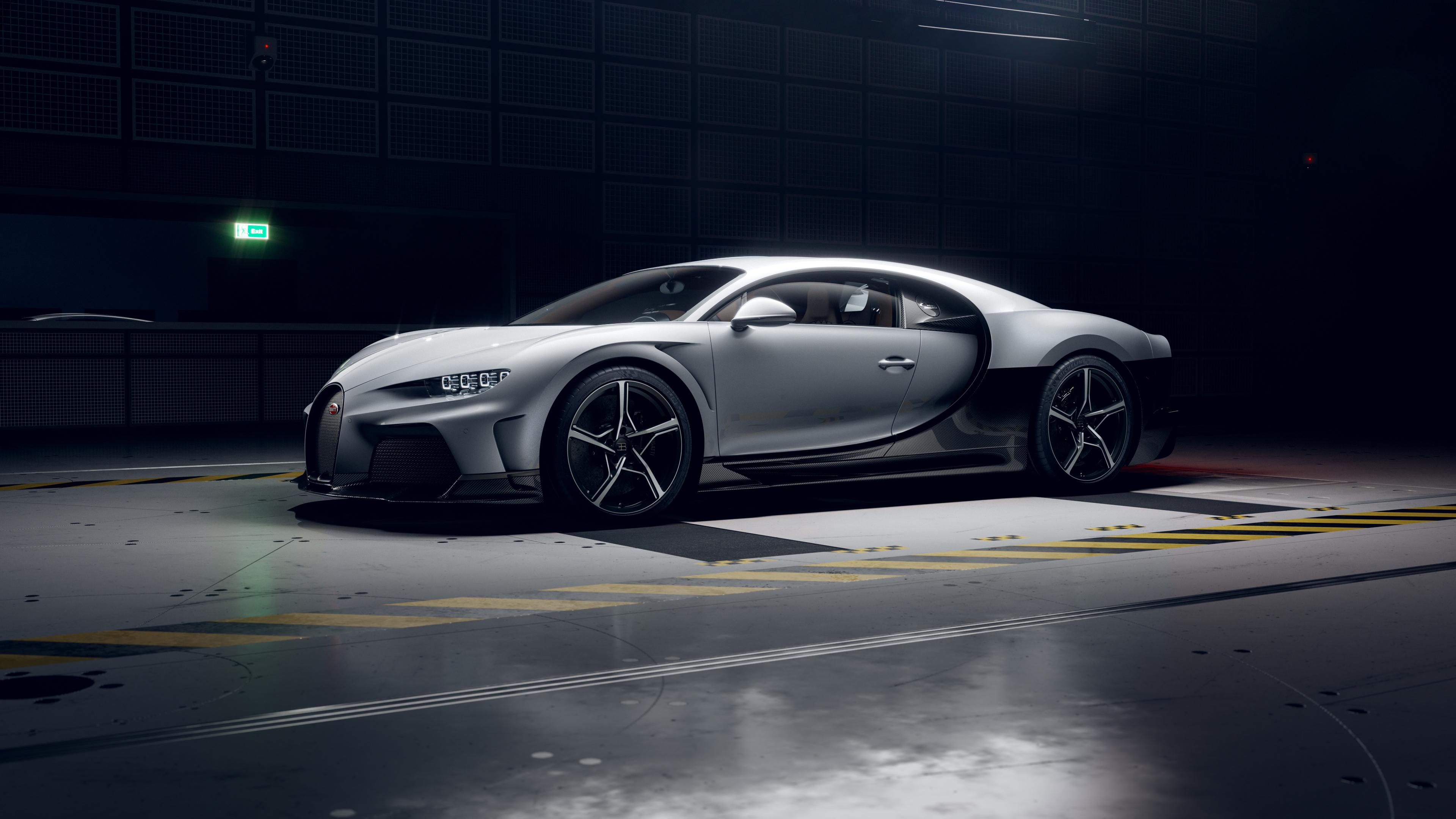 Bugatti Chiron Super Sport Front Side Rendering