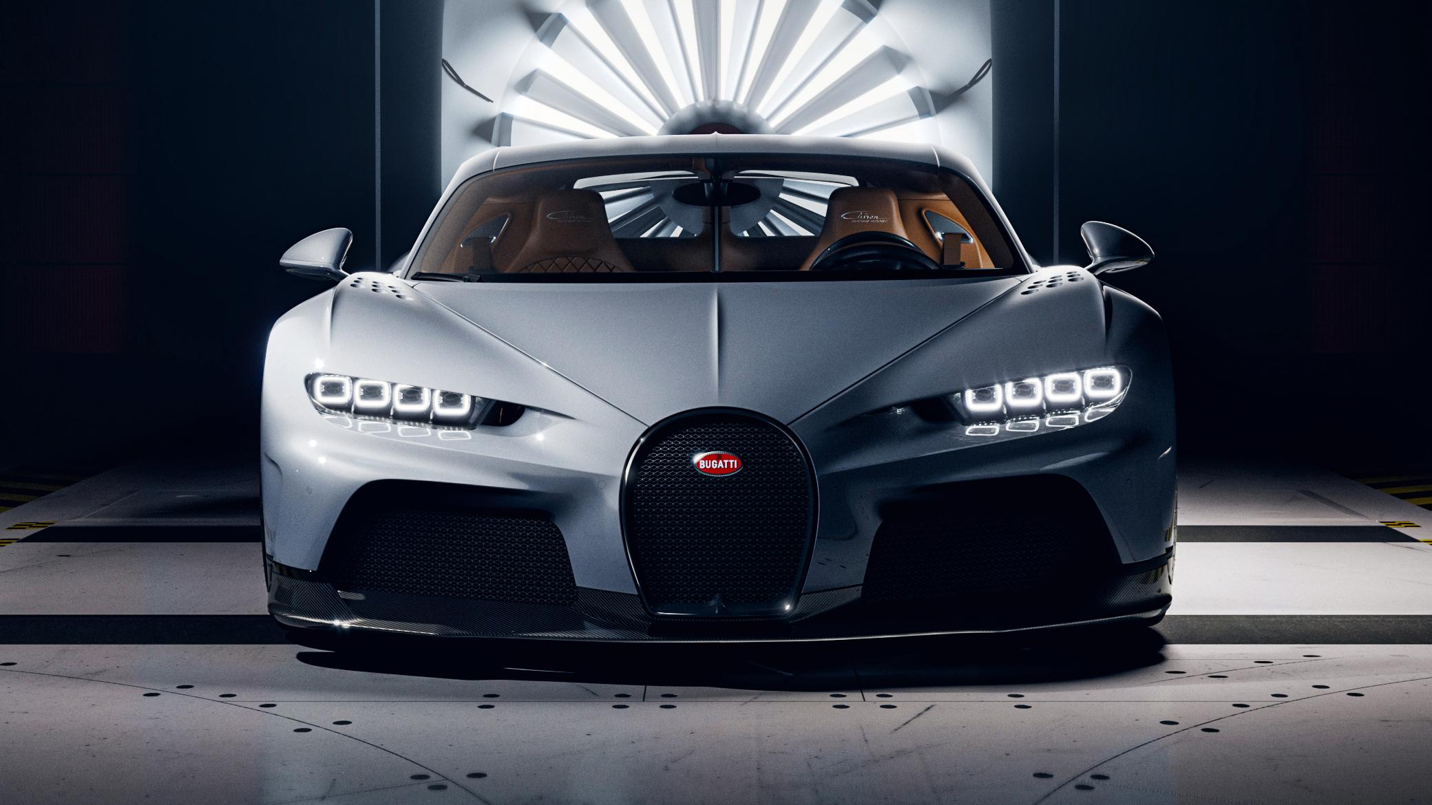 Bugatti Chiron Super Sport – Wind tunnel